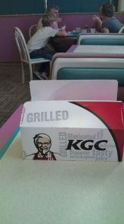キーワードはKFCからKGC −グリルドチキンはおいしい